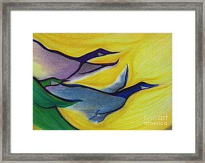 Flight By Jrr Framed Print by First Star Art