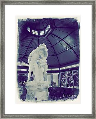 Flight From Pompeii Framed Print by Chris Armytage
