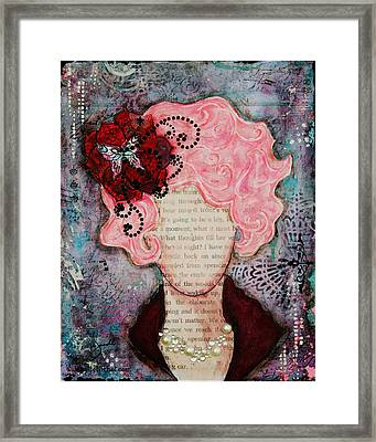 Flight Of Fancy By Janelle Nichol Framed Print by Janelle Nichol