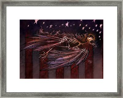 Flight Of The American Spirit Framed Print by David Bollt