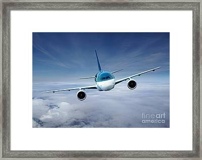 Flightcheck Framed Print by Ma Bu