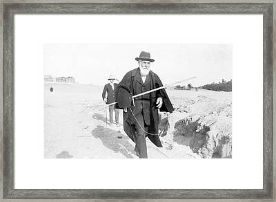 Flinders Petrie In Egypt Framed Print by Petrie Museum Of Egyptian Archaeology, Ucl