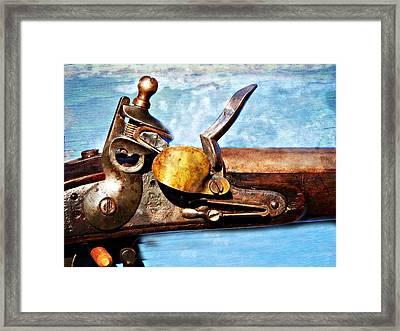 Flintlock Framed Print by Marty Koch