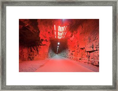 Fljotsdalur Hydro Power Station Framed Print by Ashley Cooper