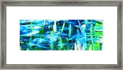 Float 2 Horizontal Framed Print by Angelina Vick