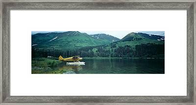 Float Plane Kenai Peninsula Alaska Usa Framed Print by Panoramic Images