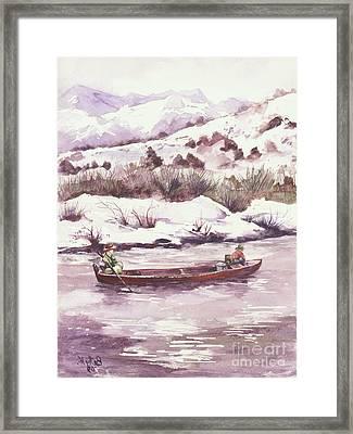 Float Trip Framed Print by Elisabeta Hermann