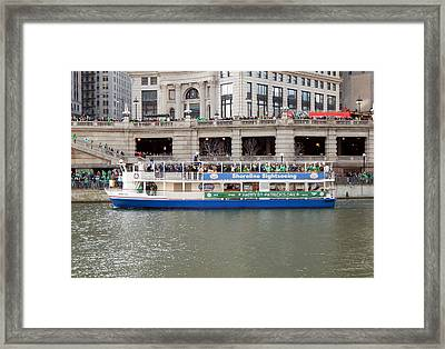 Floating Celtic Music Framed Print by Wild Thing