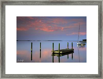 Floating Docks Framed Print by Phill Doherty