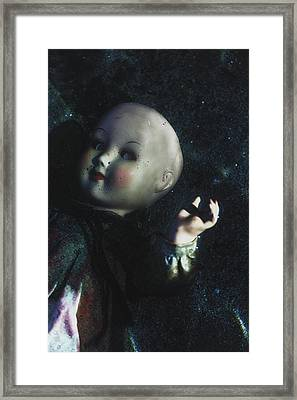 Floating Doll Framed Print by Joana Kruse