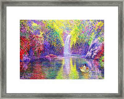 Floating Framed Print by Jane Small
