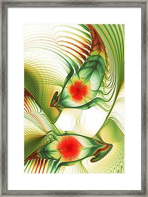 Floating Thoughts Framed Print by Anastasiya Malakhova