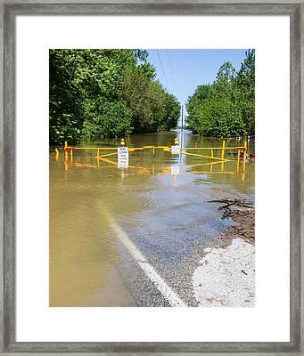 Flooded Framed Print by Timothy Blair