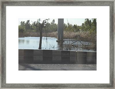 Flooding Of Stores And Shops In Bangkok Thailand - 01132 Framed Print by DC Photographer