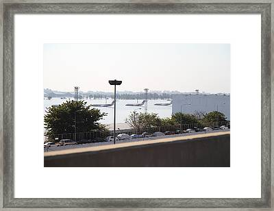 Flooding Of The Airport In Bangkok Thailand - 01132 Framed Print by DC Photographer