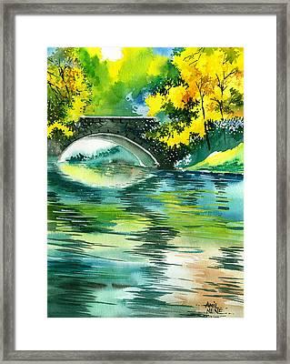 Floods R Framed Print by Anil Nene