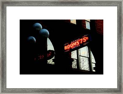 Flophouse Framed Print by Benjamin Yeager