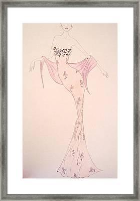 Flora Framed Print by Christine Corretti
