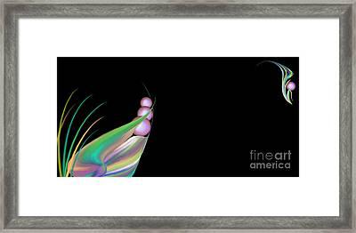 Flora - Open Edition Framed Print by Kathryn L Novak