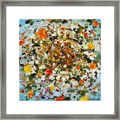 Floral Chaos Framed Print by Dragica  Micki Fortuna