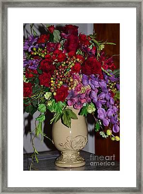 Floral Decor Framed Print by Kathleen Struckle