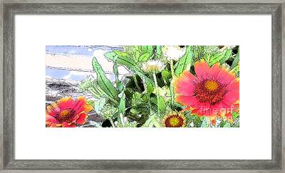 Floral Display 4 Framed Print by Bruce Tubman