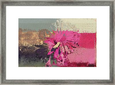 Floral Fiesta - S33bt01 Framed Print by Variance Collections