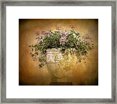 Floral Fresco Framed Print by Jessica Jenney
