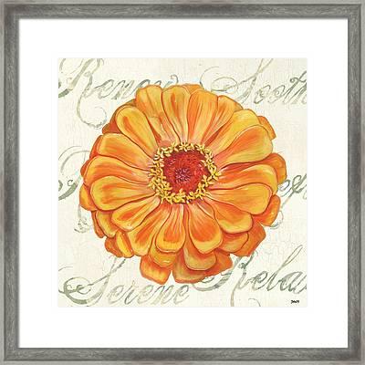 Floral Inspiration 2 Framed Print by Debbie DeWitt