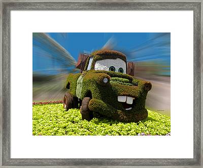 Floral Mater Framed Print by Thomas Woolworth