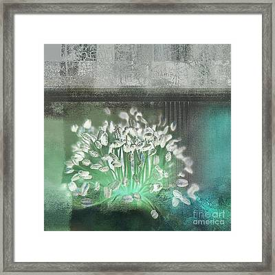Floralart - 03 Framed Print by Variance Collections