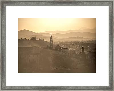 Florence Dream.. Framed Print by A Rey