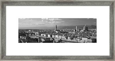Florence Italy Framed Print by Panoramic Images