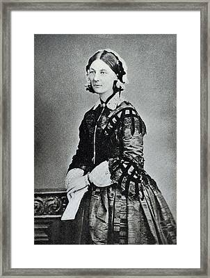 Florence Nightingale Framed Print by Library Of Congress