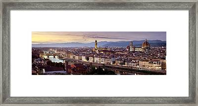 Florence Framed Print by Rod McLean