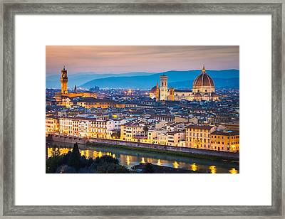 Florence Framed Print by Stefano Termanini