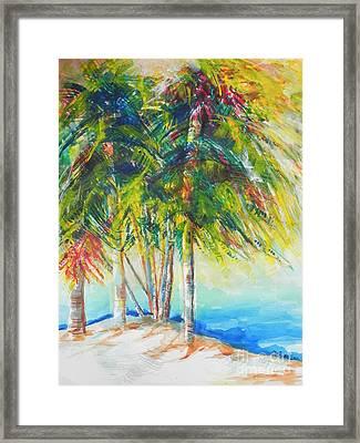 Florida Inspiration  Framed Print by Chrisann Ellis