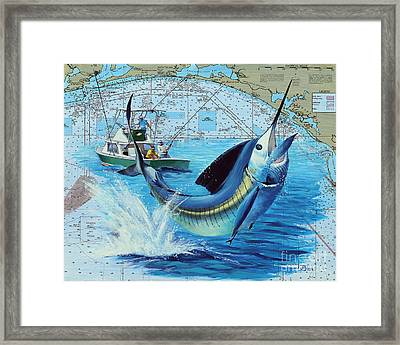Florida Panhandle Bill Fishing Framed Print by Jay Prentice