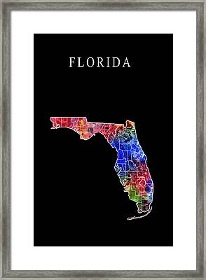 Florida State Framed Print by Daniel Hagerman
