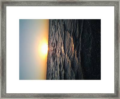 Florida Sunrise Framed Print by Chasity Johnson