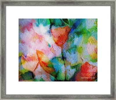 Florisan Framed Print by Lutz Baar
