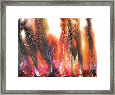 Flow Series 2 Framed Print by Sumit Mehndiratta