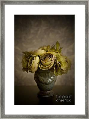 Flower Arrangement Framed Print by Diane Diederich