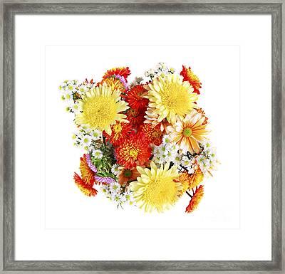 Flower Bouquet Framed Print by Elena Elisseeva