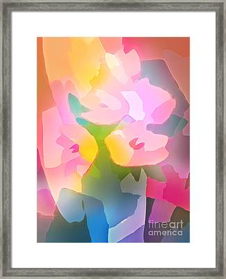 Flower Deco IIi Framed Print by Lutz Baar