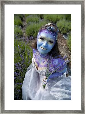Flower Fairy Framed Print by Graham Foulkes