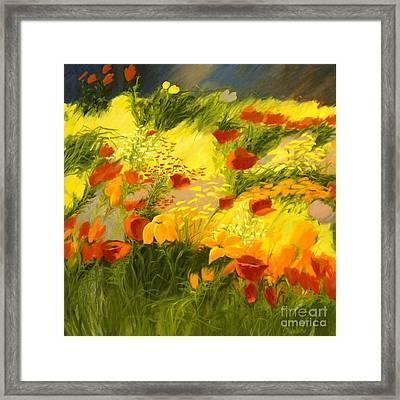 Flower Fantasy Framed Print by Madeleine Holzberg