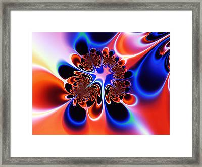 Flower Power Framed Print by Ian Mitchell