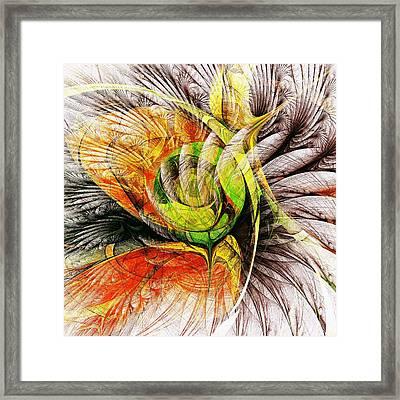 Flower Spirit Framed Print by Anastasiya Malakhova