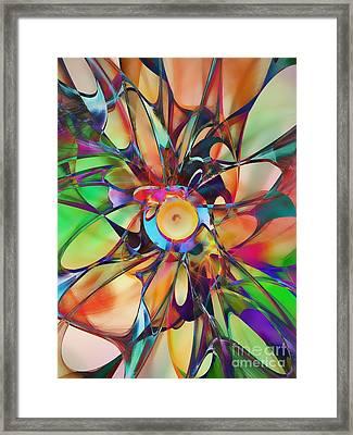 Flowering Framed Print by Klara Acel
